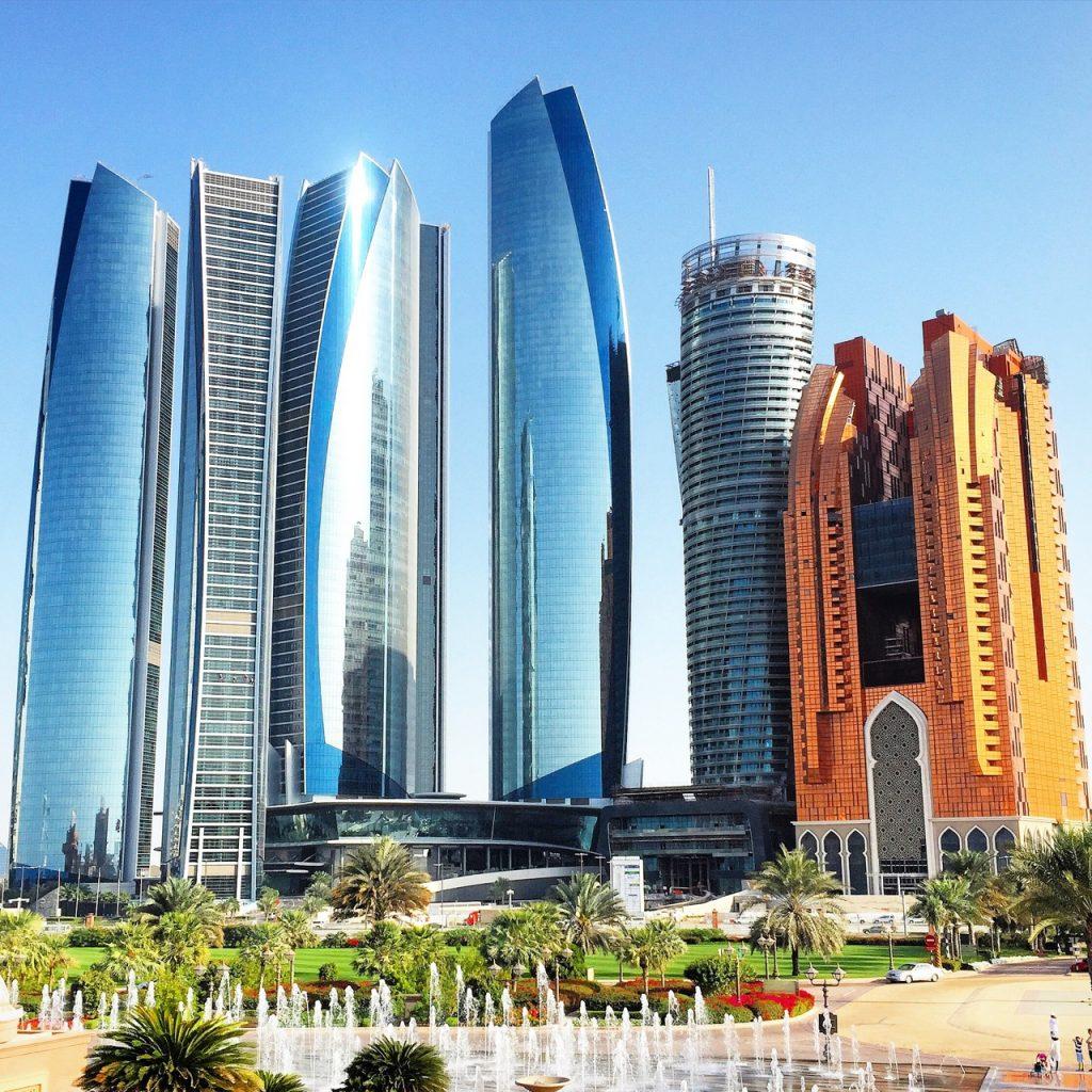Rascacielos en Abu-Dhabi