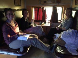 Tren de retorno de Agra