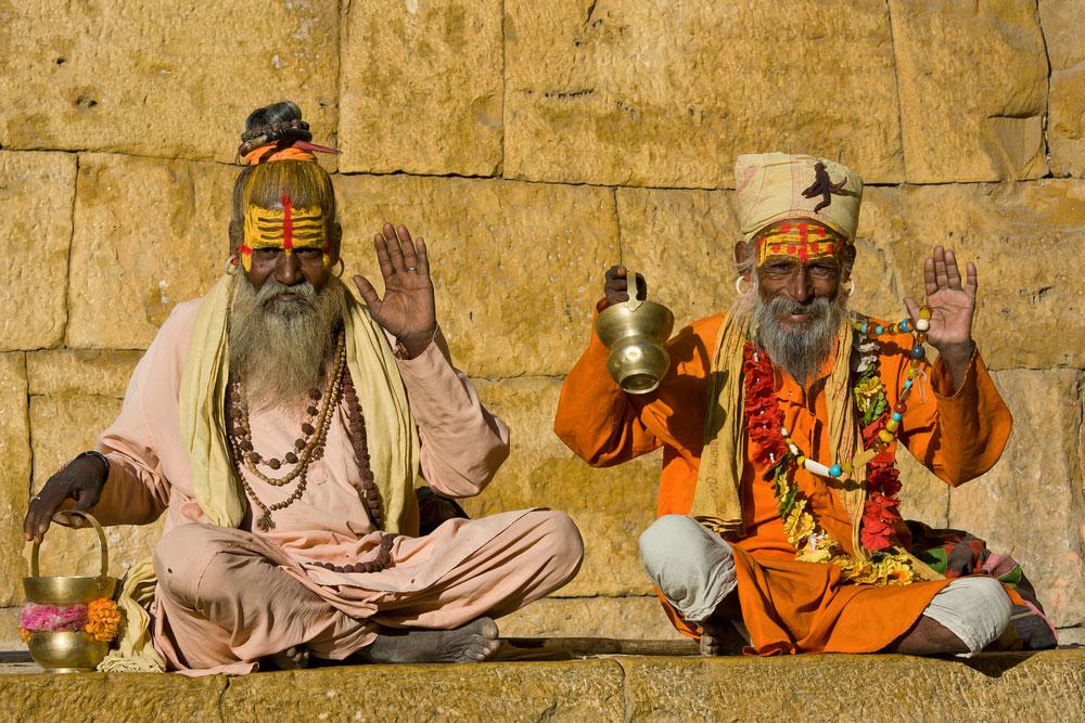 Meditación en India