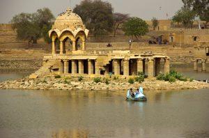 Lago Gadsisar Jaisalmer