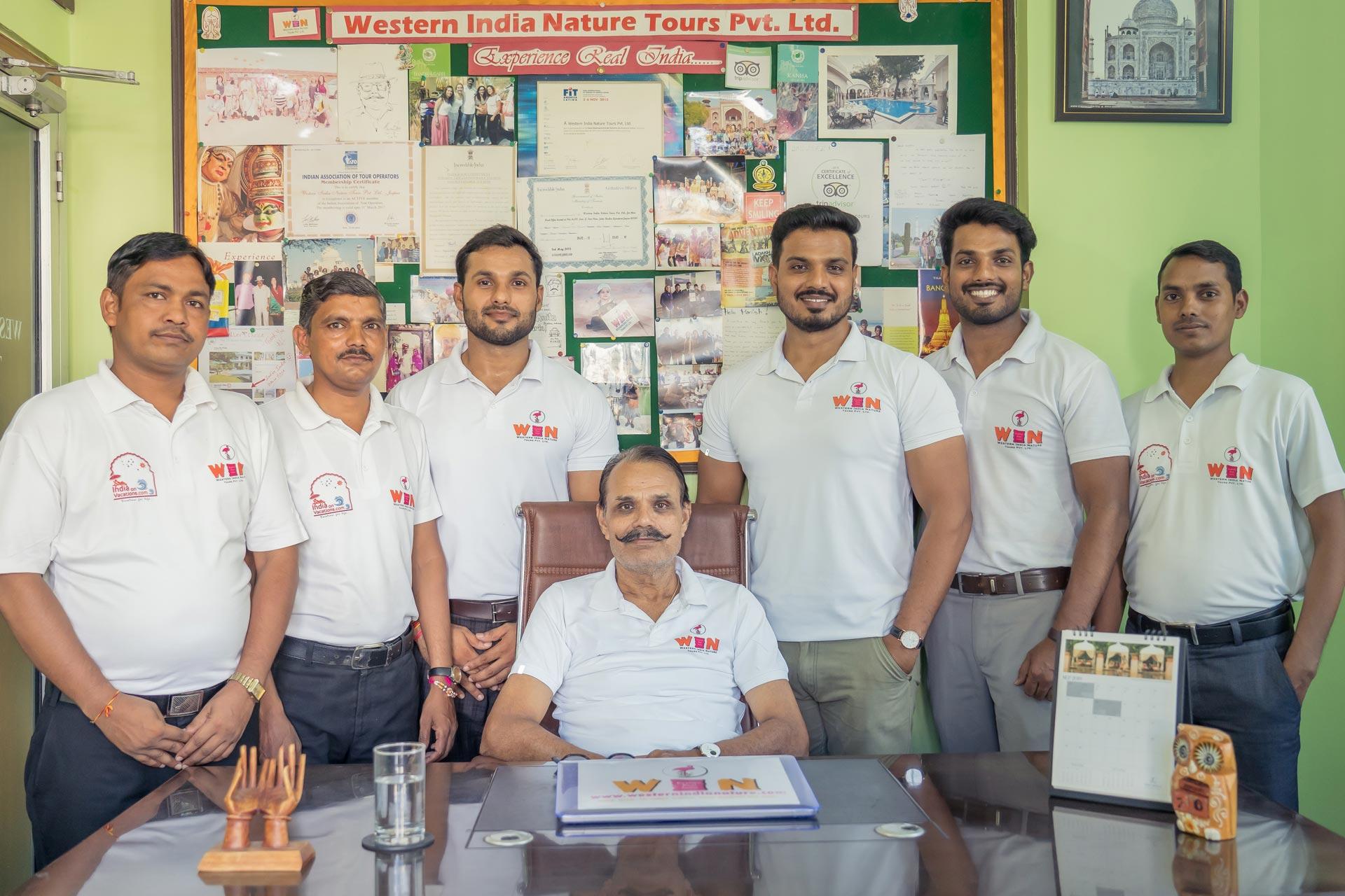Nuestro equipo de WIN Tours India