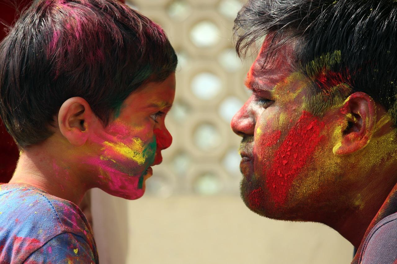 Festival de Holi en India
