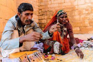 Personas típicas de India