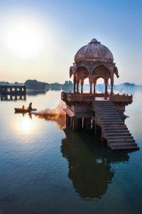 Hermoso paisaje de India