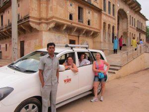Viaje a India con coche y Chofer